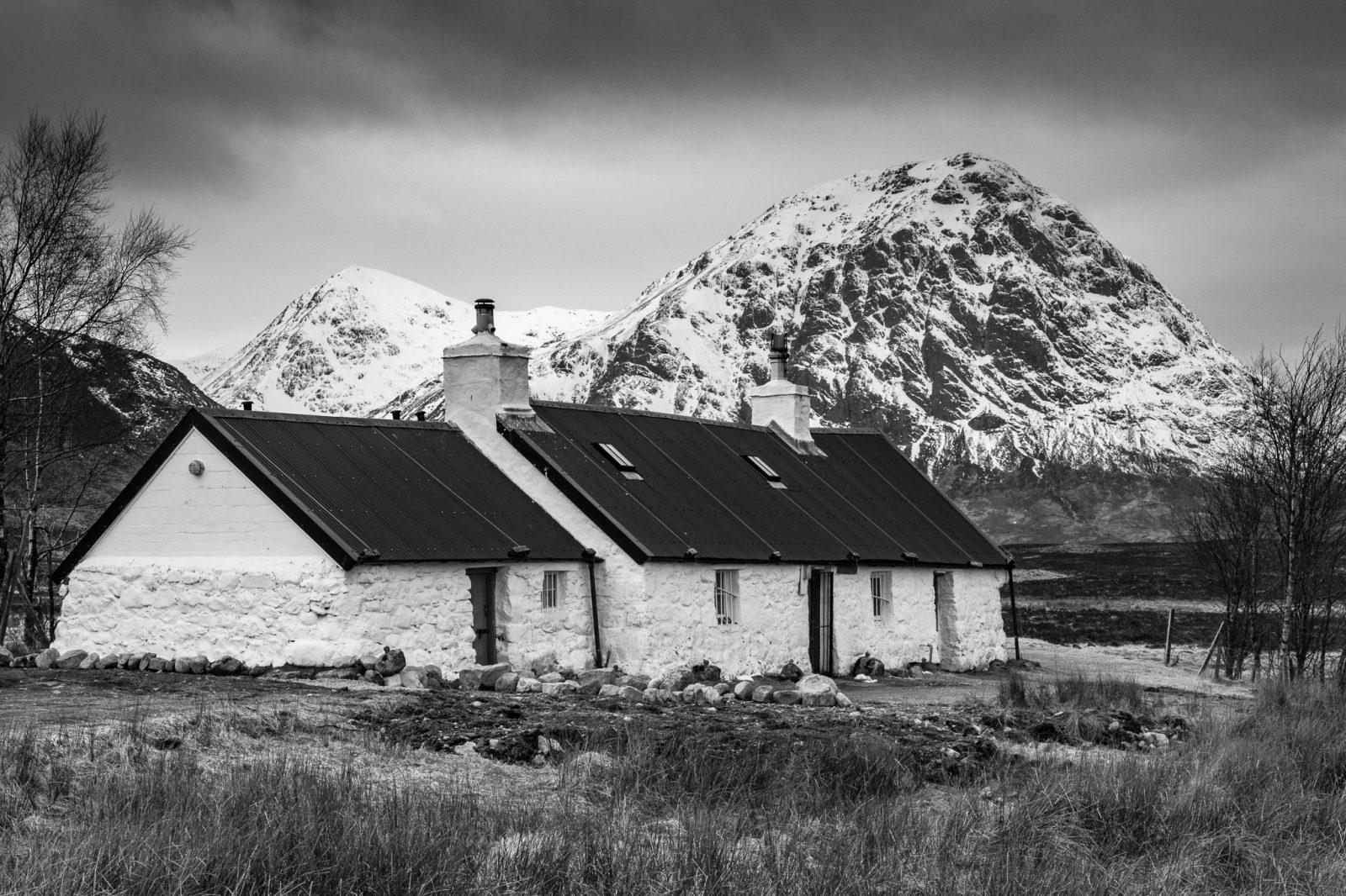 Blackrock Cottage & Buachaille Etive Mòr, Glencoe, Scotland